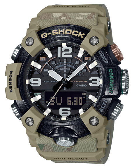 ARMY MENS ACCESSORIES G SHOCK WATCHES - GGB100BA-1AARM