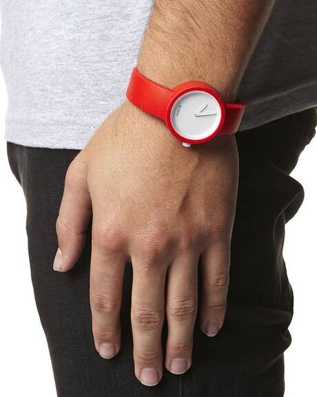 TRAFFIC RED MENS ACCESSORIES O CLOCK WATCHES - OC-001RED