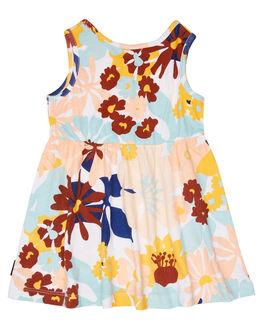 WHITE KIDS GIRLS RIP CURL DRESSES + PLAYSUITS - FDRAX11000