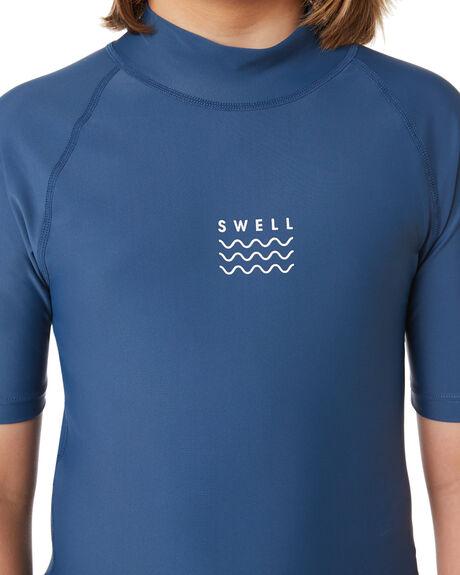 STEEL BLUE OUTLET BOARDSPORTS SWELL RASHVESTS - S3164050STEBL
