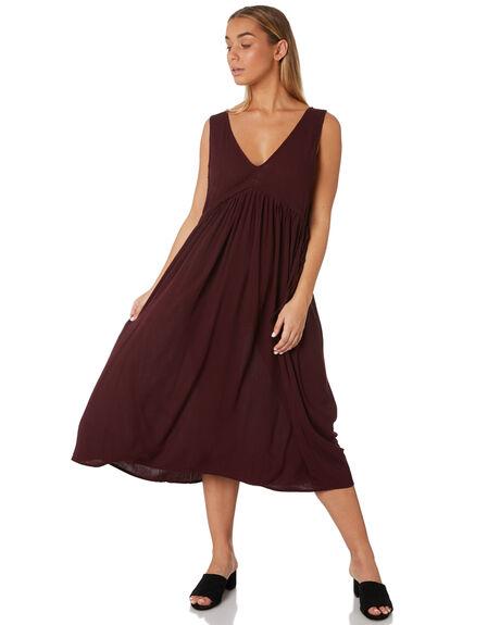 PLUM WOMENS CLOTHING THE BARE ROAD DRESSES - 990341-08PLU