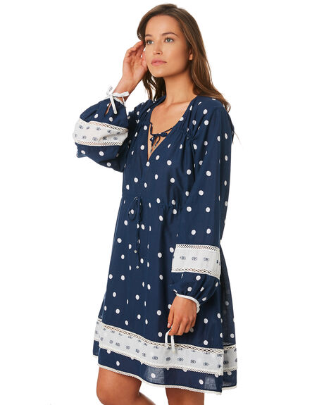NAVY WOMENS CLOTHING TIGERLILY DRESSES - T392448NAVY