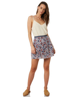 AWAY TROPICAL  WHITE WOMENS CLOTHING THE HIDDEN WAY SKIRTS - H8202475ATRPL