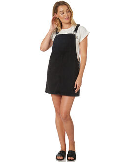 BLACK WOMENS CLOTHING RIP CURL PLAYSUITS + OVERALLS - GDRHL10090