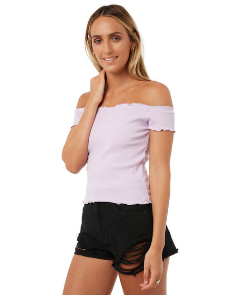 LILAC WOMENS CLOTHING ALL ABOUT EVE FASHION TOPS - 6403109LIL