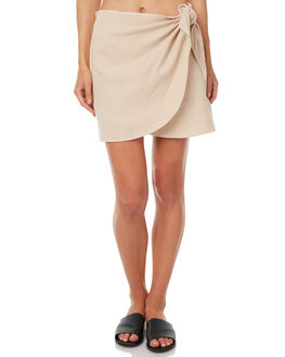 NATURAL WOMENS CLOTHING ELEMENT SKIRTS - 273852NAT
