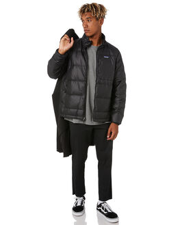 BLACK MENS CLOTHING PATAGONIA JACKETS - 28388BLK