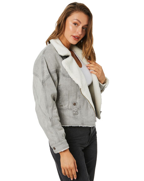 CLOUDY WOMENS CLOTHING LEVI'S JACKETS - 22920-0001CLOUD