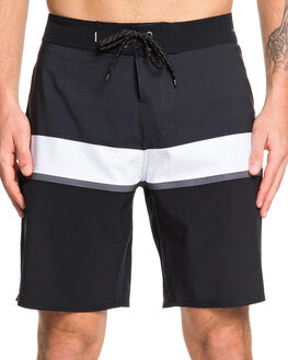 BLACK MENS CLOTHING QUIKSILVER BOARDSHORTS - EQYBS04237-KVJ6