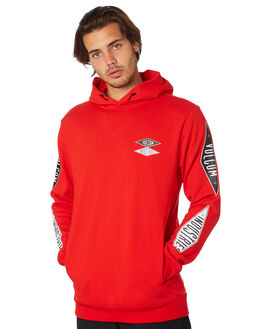 BRIGHT RED MENS CLOTHING VOLCOM JUMPERS - A4111950BRE