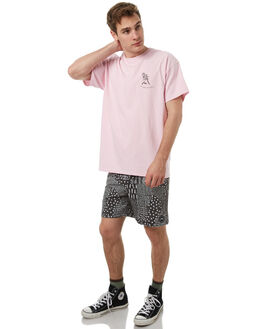 DUSTY PINK MENS CLOTHING RUSTY TEES - TTM1997DUP