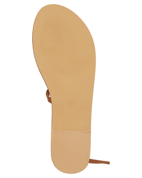 TAN SUEDE WOMENS FOOTWEAR BILLINI FASHION SANDALS - S551TANSD