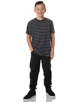 BLACK KIDS BOYS ELEMENT TEES - 383004BLK