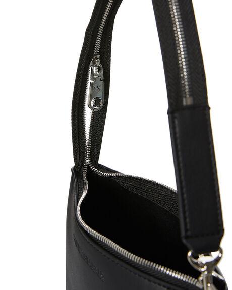 BLACK WOMENS ACCESSORIES CALVIN KLEIN BAGS + BACKPACKS - K60K607462-BDS