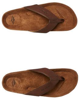 BROWN MENS FOOTWEAR RIP CURL THONGS - TCTG301153