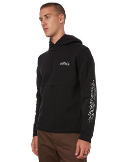 BLACK MENS CLOTHING HURLEY JUMPERS - 925231010