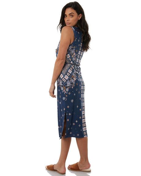 STEEL WOMENS CLOTHING TIGERLILY DRESSES - T383437STEEL