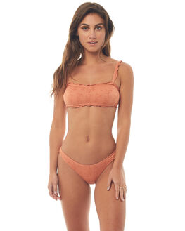 BRANDY APRICOT WOMENS SWIMWEAR PEONY SWIMWEAR BIKINI BOTTOMS - HO18-12-BRA
