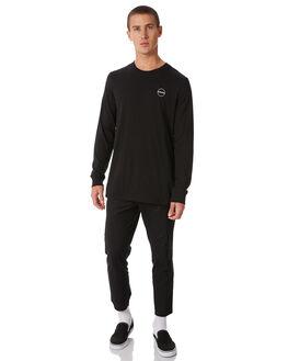 FLINT BLACK MENS CLOTHING ELEMENT TEES - 186064FBLK
