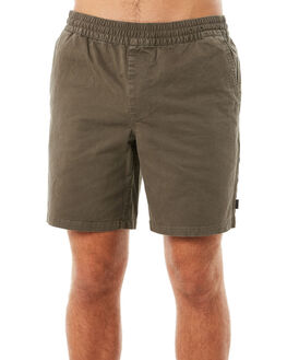 DARK OLIVE MENS CLOTHING RIP CURL SHORTS - CWALC19389