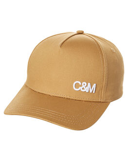 CARAMEL WOMENS ACCESSORIES CAMILLA AND MARC HEADWEAR - OCMA98M80CRML