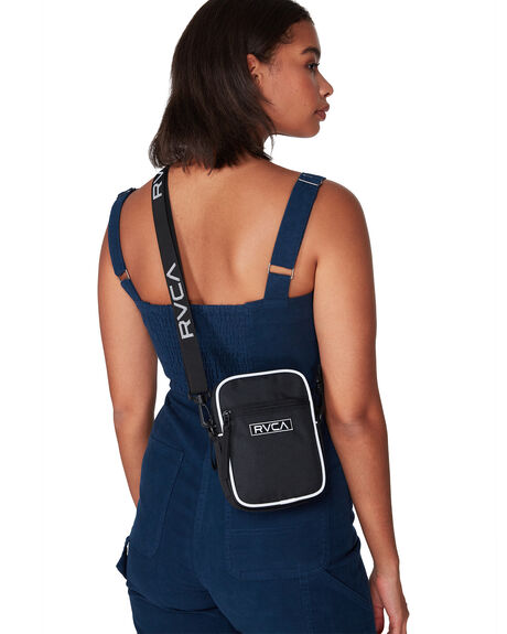 BLACK WOMENS ACCESSORIES RVCA BAGS + BACKPACKS - RV-R292456-BLK