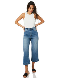 EVERGLAD BLUE WOMENS CLOTHING RIDERS BY LEE JEANS - R-551742-MS5