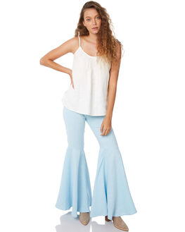 CORNFLOWER WOMENS CLOTHING WILDE WILLOW PANTS - K338-BCORN