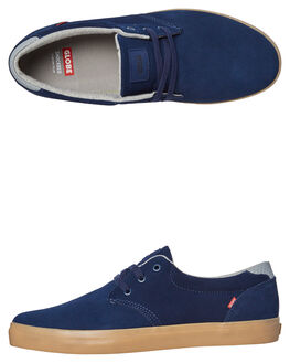 DARK BLUE GUM MENS FOOTWEAR GLOBE SKATE SHOES - GBWINSLOW-13268