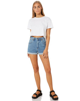 ISLA BLUE WOMENS CLOTHING WRANGLER SHORTS - W-950187-P94ISLB
