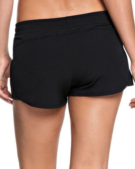 BLACK WOMENS CLOTHING ROXY SHORTS - ERJNS03172KVJ0
