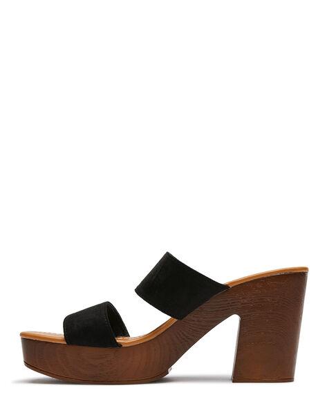 BLACK WOMENS FOOTWEAR THERAPY HEELS - 10222BLK