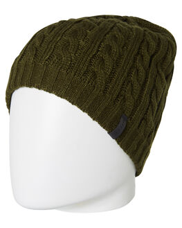 DARK OLIVE MENS ACCESSORIES RIP CURL HEADWEAR - CBNDO19389
