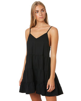 BLACK WOMENS CLOTHING ALL ABOUT EVE DRESSES - 6444073BLK