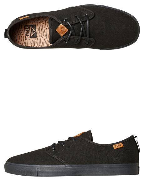 ALL BLACK MENS FOOTWEAR REEF SNEAKERS - A3YKHALB