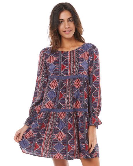 ANTHRACITE WOMENS CLOTHING ROXY DRESSES - ERJWD03177KVJ6