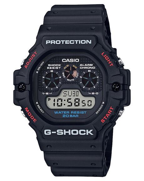 BLACK MENS ACCESSORIES G SHOCK WATCHES - DW5900-1DBLK