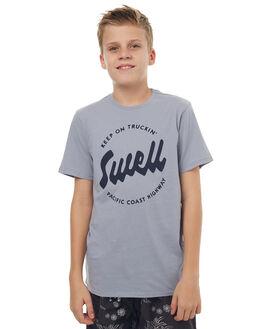 ARTIC BLUE KIDS BOYS SWELL TEES - S3171004ARTBL