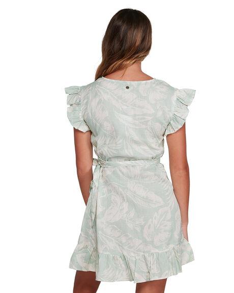 GREEN WOMENS CLOTHING BILLABONG DRESSES - BB-6504466-GRN