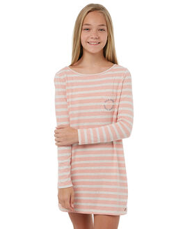 ROSE TAN HEATH BICO KIDS GIRLS ROXY DRESSES - ERGKD03056MHB3