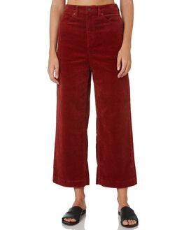 AUBURN WOMENS CLOTHING VOLCOM PANTS - B1931906AUB
