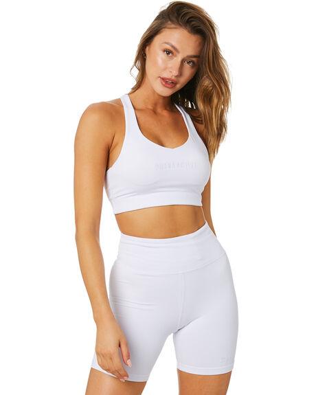 WHITE WOMENS CLOTHING LAHANA ACTIVEWEAR - LA-ARL-T-WHITE
