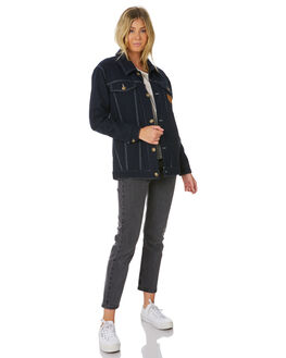 NAVY WOMENS CLOTHING RIP CURL JACKETS - GJKEK10049