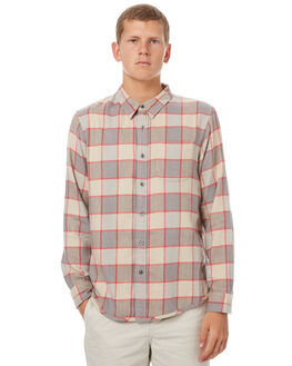 DRIFTWOOD PLAID MENS CLOTHING OUTERKNOWN SHIRTS - 1310074DPP