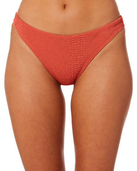 ROSO RED OUTLET WOMENS THE HIDDEN WAY BIKINI BOTTOMS - H8182332RSORD