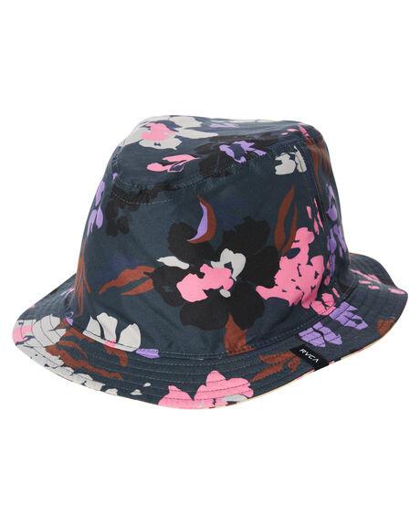 Rvca Va Vibrations Bucket Hat - Black  e8280a1569e
