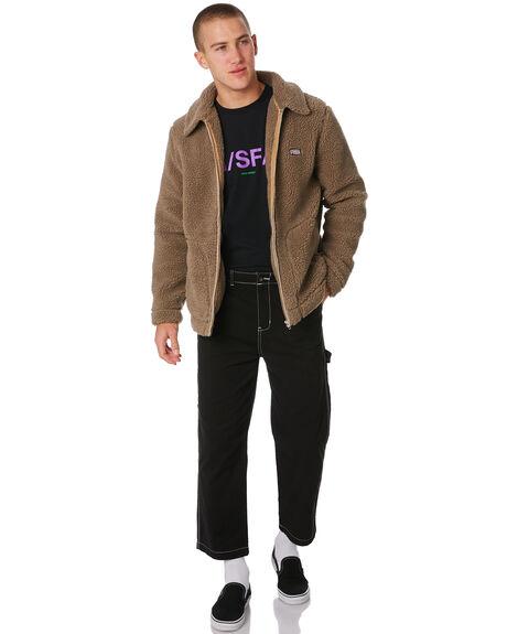 BROWN MENS CLOTHING MISFIT JACKETS - MT091501BROWN