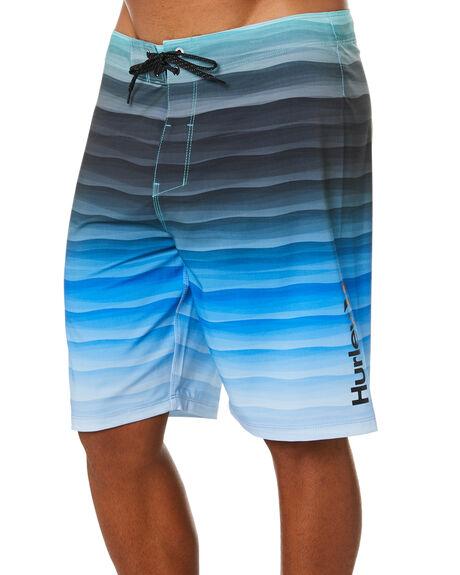 BLACK MENS CLOTHING HURLEY BOARDSHORTS - DB8799H010
