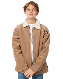LIGHT FENNEL KIDS BOYS RUSTY JUMPERS + JACKETS - JKB0135LFN