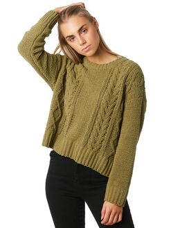 AVOCADO WOMENS CLOTHING BILLABONG KNITS + CARDIGANS - 6595797A48